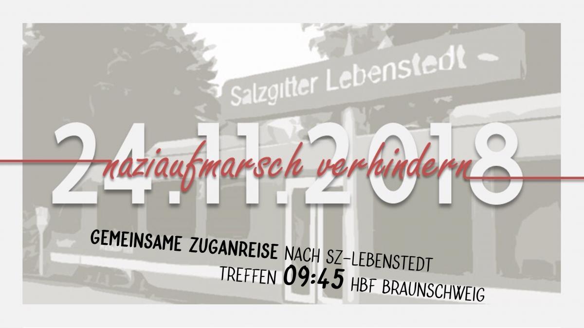 Am 24. November gemeinsam nach Lebenstedt – Nazis stoppen!