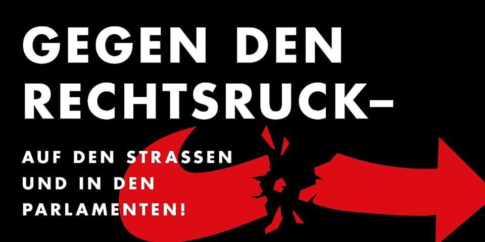 """Demo """"Gegen den Rechtsruck!"""" (25.05., 13h, WOB Hbf)"""