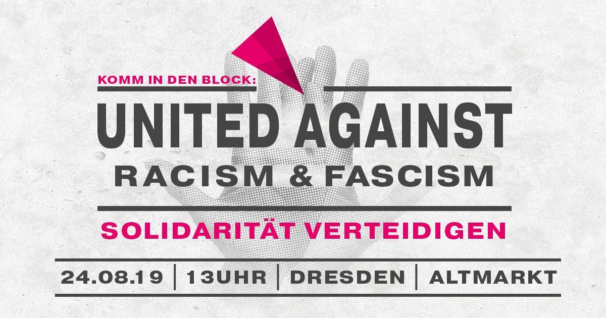 #unteilbar-Demo 24.08.2019 (Dresden)