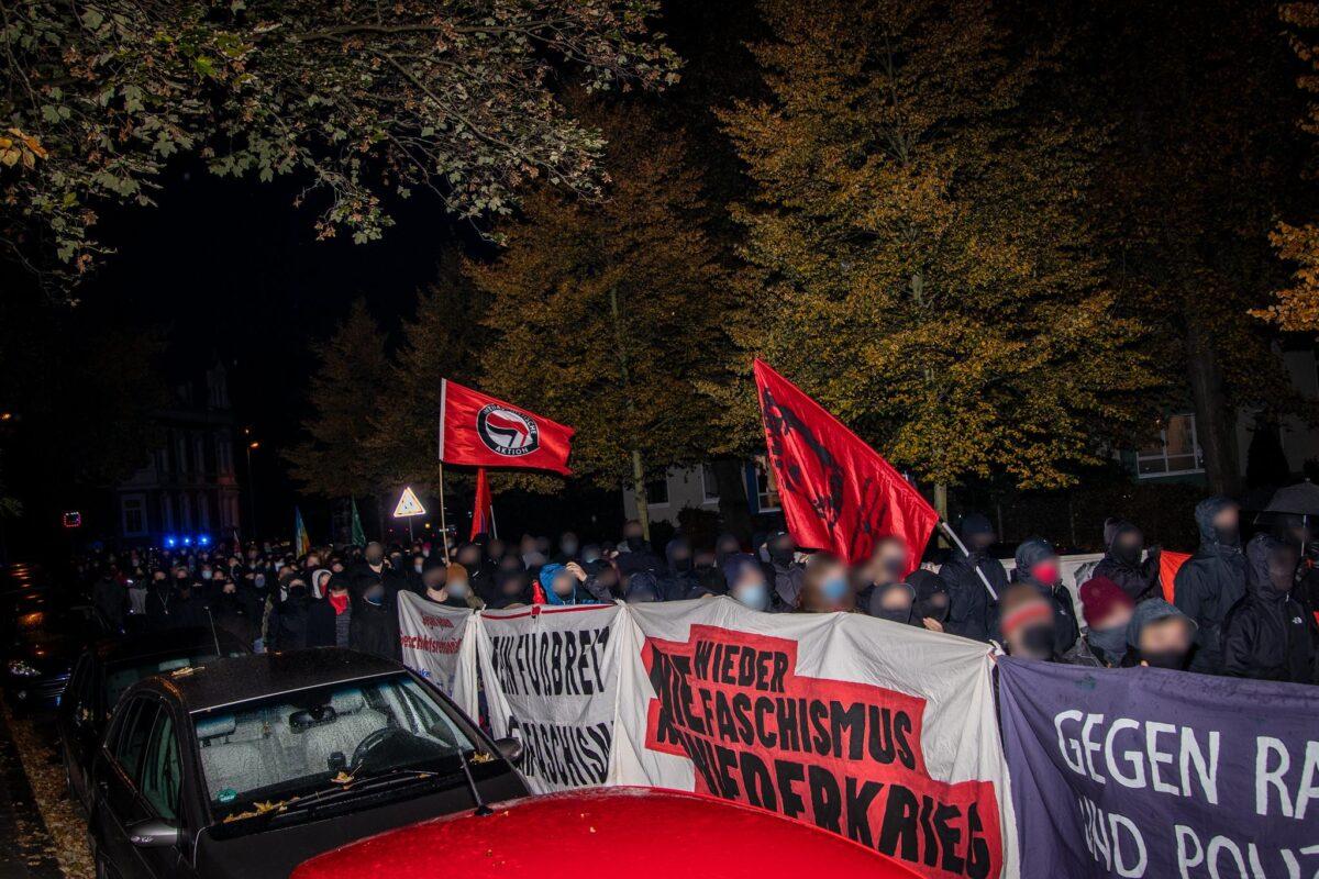 Starke Spontandemo als Antwort auf Naziaggressionen – WRG bleibt Antifa!