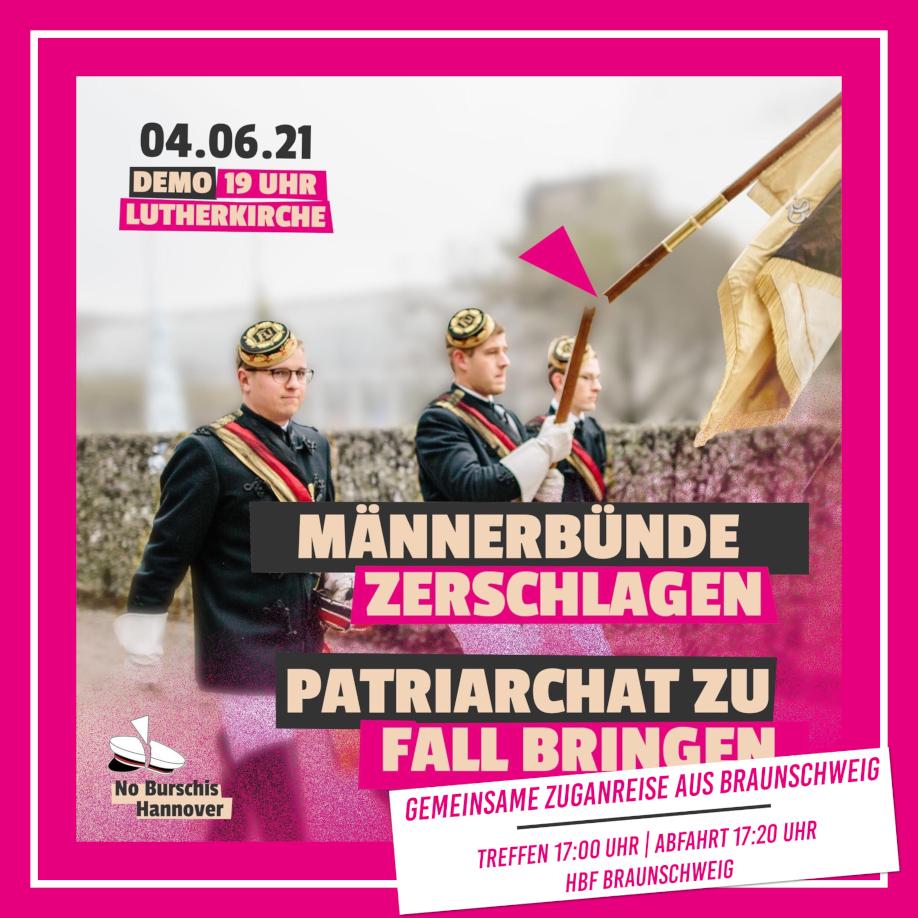 Männerbünde zerschlagen – Patriarchat zu Fall bringen!