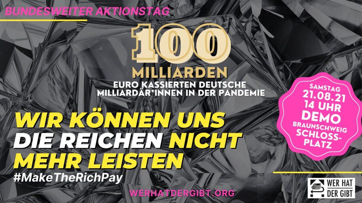 Wir können uns die Reichen nicht mehr leisten!